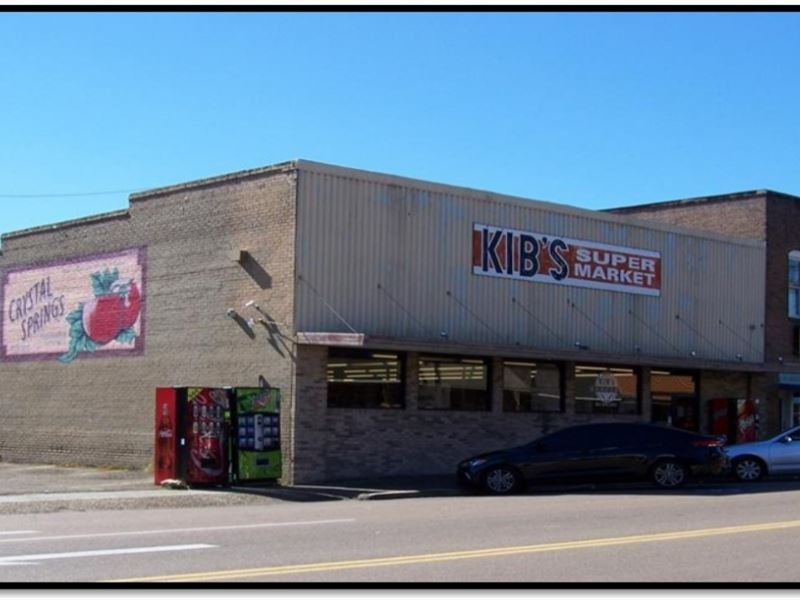 Kib's Supermarket In Copiah County : Crystal Springs : Copiah County : Mississippi