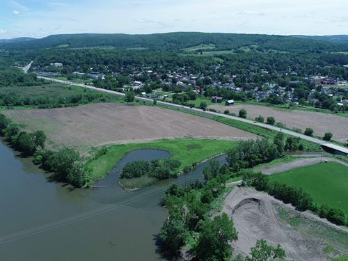 Large Acreage Off The Thruway : Mohawk : Herkimer County : New York