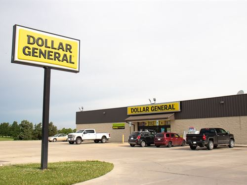 Dollar General Real Estate Illinois : Raymond : Montgomery County : Illinois