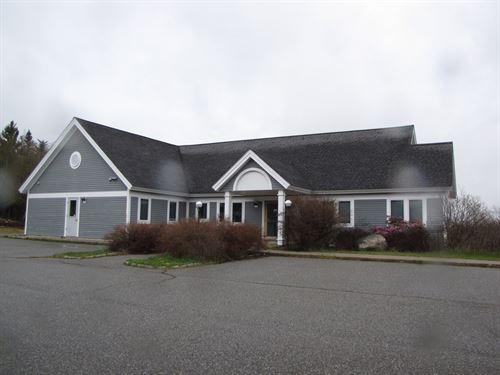 Ocean View Office Building : Machiasport : Washington County : Maine
