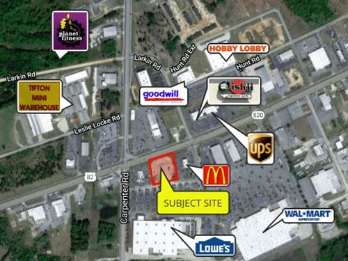 Lowe's Out Parcel, Opportunity Zone : Tifton : Tift County : Georgia