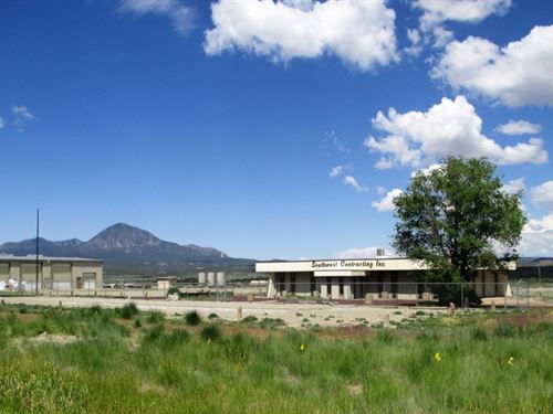 Commercial Site With Acreage : Cortez : Montezuma County : Colorado