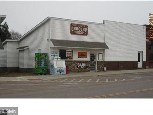 Askov Main Street Grocery Store : Askov : Pine County : Minnesota