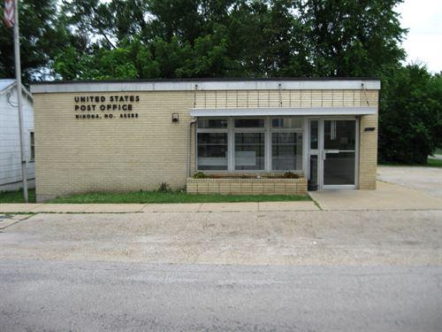 Commercial Building Winona : Winona : Shannon County : Missouri