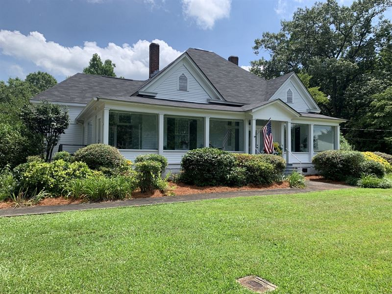 Fence Corners, Historical Home : Lineville : Clay County : Alabama