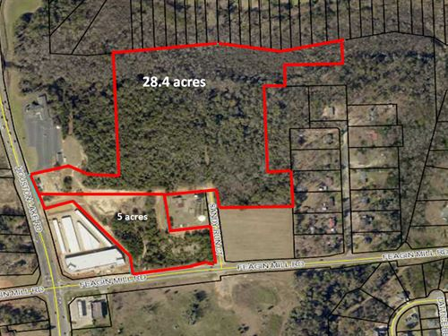 28.4 Acres In Houston County : Warner Robins : Houston County : Georgia