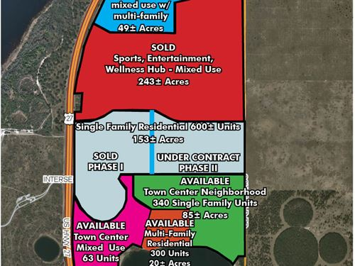Multi-Family Development Land : Clermont : Lake County : Florida