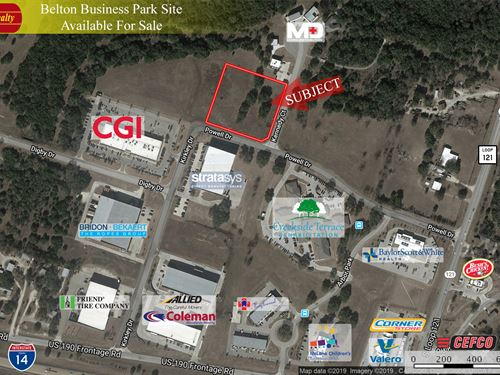 3 Acres, Belton Business Park : Belton : Bell County : Texas