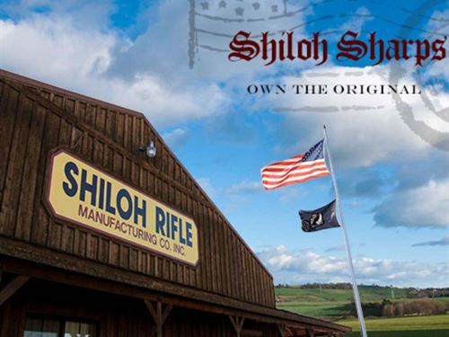 Shiloh Sharps Rifle Company : Big Timber : Sweet Grass County : Montana