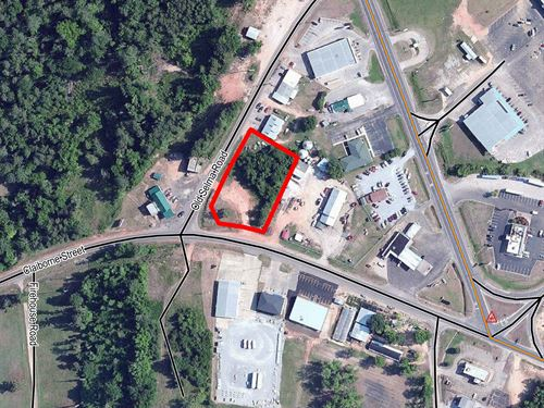 Commercial Lot In Camden : Camden : Wilcox County : Alabama