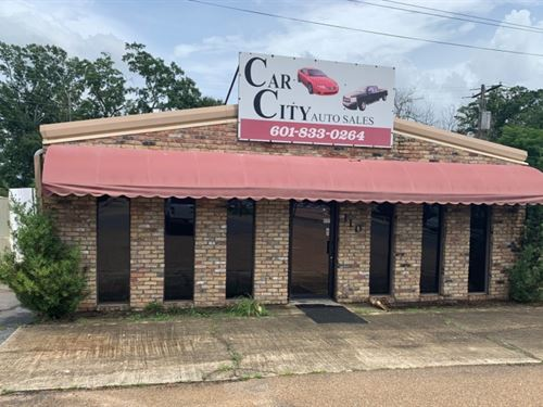 Commercial Building On.5 Acre : Brookhaven : Lincoln County : Mississippi