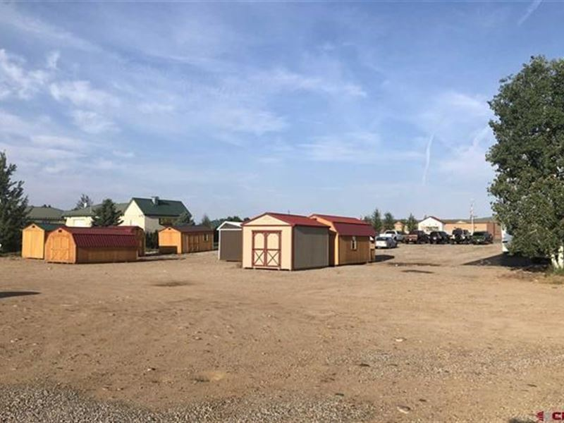 Highly Visible Commercial Vacant : Gunnison : Gunnison County : Colorado