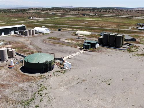 Utah Fracking Waste Water Treatment : Westwater : Grand County : Utah