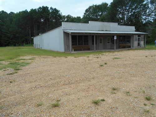 Commercial Building Franklin County : Bude : Franklin County : Mississippi