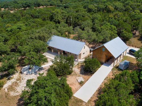 Vacation/Retreat Property Garner : Concan : Uvalde County : Texas
