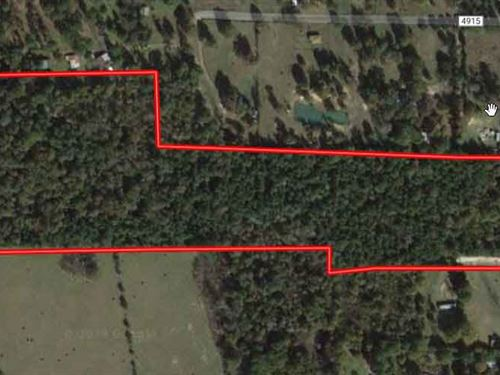 Rare Residential/Recreational Acres : Fred : Tyler County : Texas