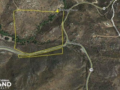 Rolling Hills/Rural/Agricultural VA : Potrero : San Diego County : California