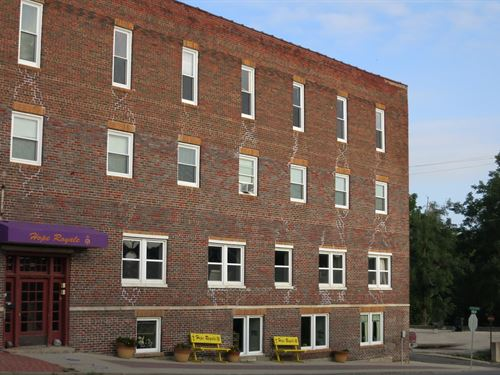 Historical Four Story Building : Bethany : Harrison County : Missouri