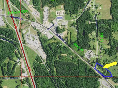 Commercial Lot 5 Acres, House : Clanton : Chilton County : Alabama
