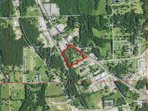 11 Ac Commercial Property Clanton : Clanton : Chilton County : Alabama