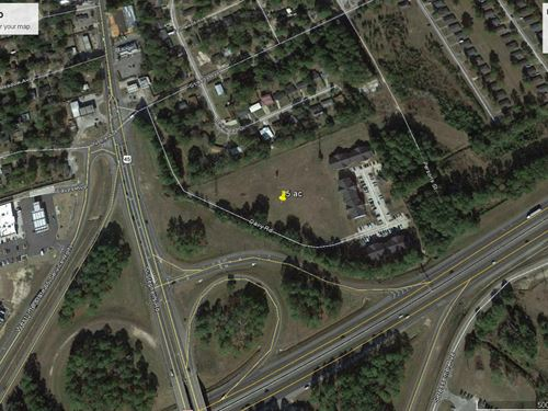5 Acre Commercial Lot Mobile : Prichard : Mobile County : Alabama