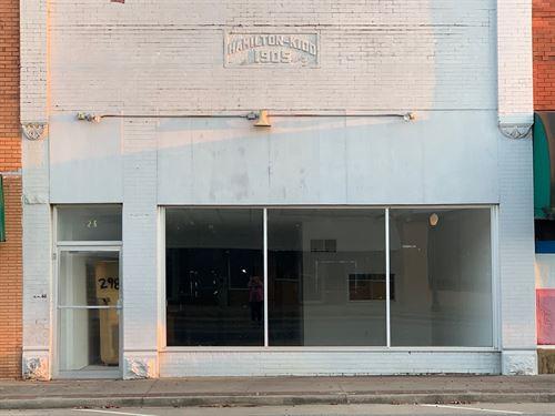 Commercial Property, Wilburton,Ok : Wilburton : Latimer County : Oklahoma