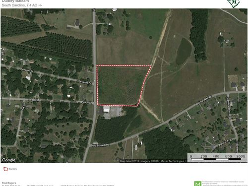 7.4 Acres North Of Boiling Springs : Inman : Spartanburg County : South Carolina