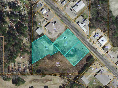 Three Acre Development Site On 145 : Aberdeen : Monroe County : Mississippi