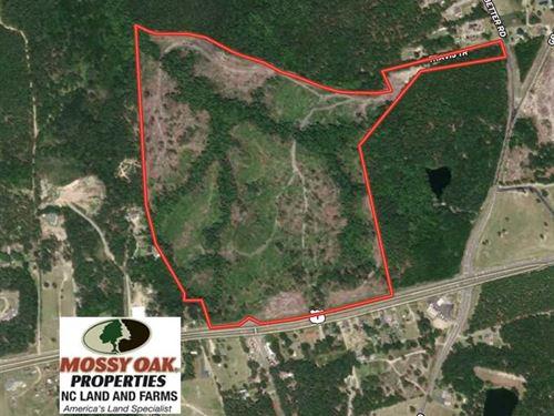 83 Acres of Development Land : Rockingham : Richmond County : North Carolina