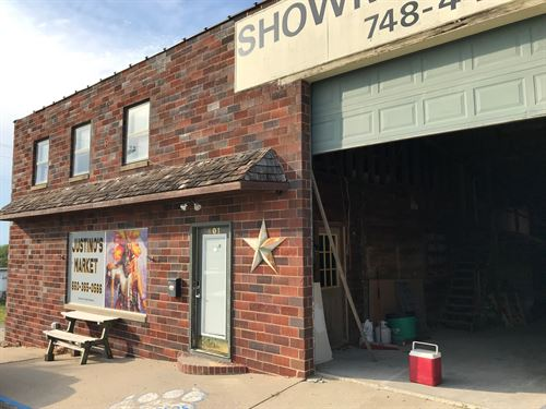 Commercial Building Located : Princeton : Mercer County : Missouri