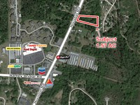 Commercial Lot For Sale Houston Rd : Macon : Bibb County : Georgia