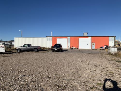 Rail Center Commercial Property : Evanston : Uinta County : Wyoming