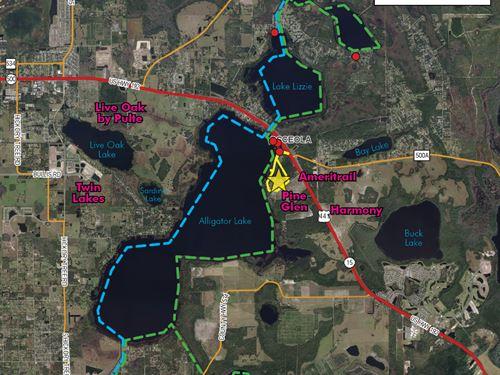 Prime Development Opportunity : Saint Cloud : Osceola County : Florida