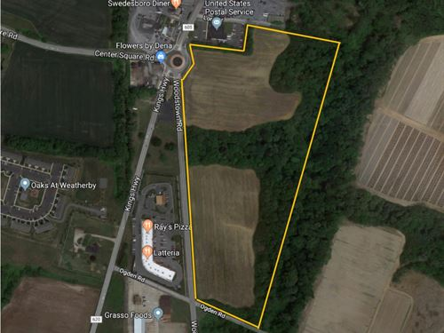 Farm With Development Rights Intact : Swedesboro : Gloucester County : New Jersey