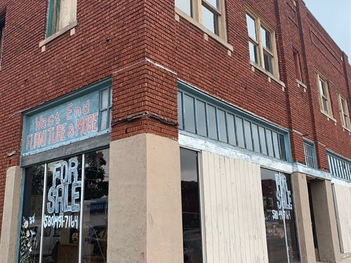 Commercial Building For Sale : Ponca City : Kay County : Oklahoma