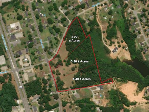 Residential Development Land : Roebuck : Spartanburg County : South Carolina