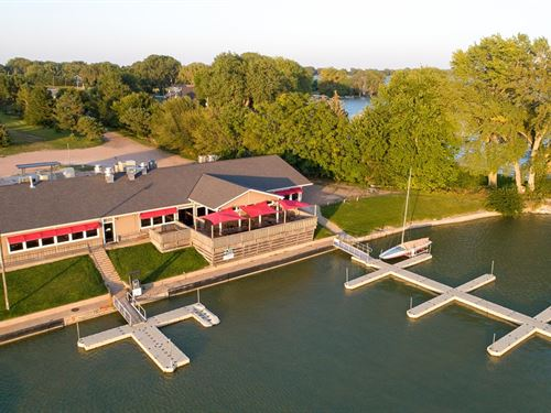Marina Bar & Grill On Johnson Lake : Johnson Lake : Gosper County : Nebraska