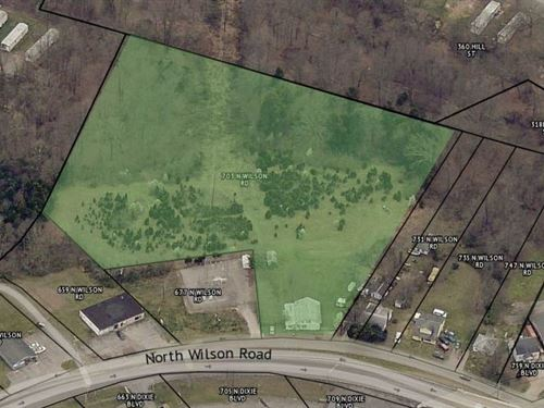 Commercial Zoned Development Ground : Radcliff : Hardin County : Kentucky