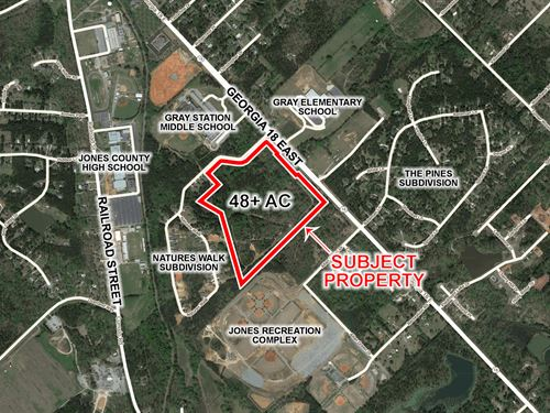 Residential Development Opportunity : Gray : Jones County : Georgia