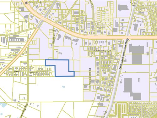 Prime Development Site, Commercial : Tyler : Smith County : Texas