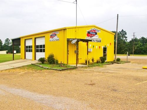 Commercial Auto Repair / Oil Change : Tylertown : Walthall County : Mississippi
