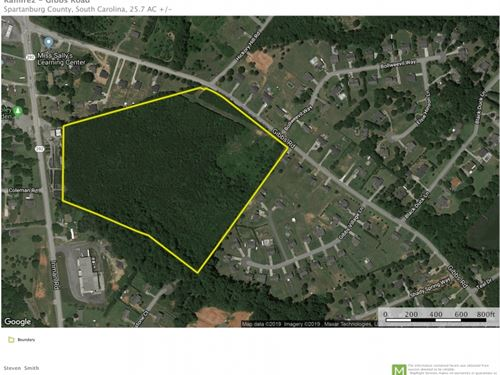 25.70 Acres : Wellford : Spartanburg County : South Carolina