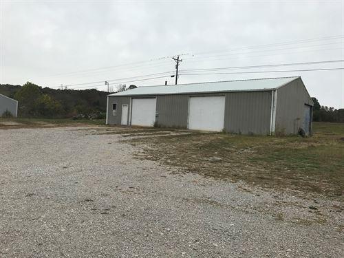 1 Acre Hwy 90 East, Large Garage : Glasgow : Barren County : Kentucky