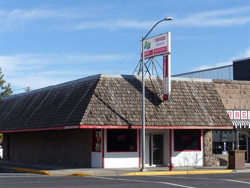 Chinese Restaurant, Great Business : Burns : Harney County : Oregon