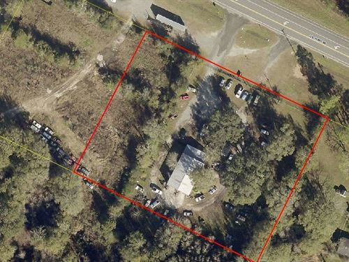 2.5 Acres Commercial Intensive : Live Oak : Suwannee County : Florida
