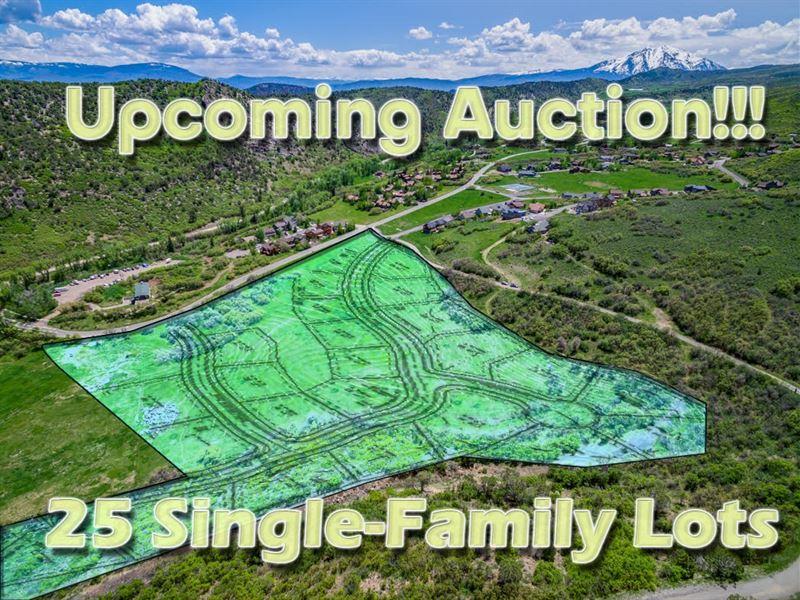 Glenwood Springs Pud Land Auction : Glenwood Springs : Garfield County : Colorado