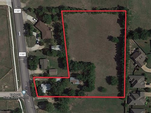 Commercial Acreage : Aledo : Parker County : Texas