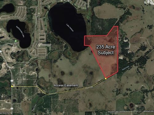 235 Acre Development Site : Lake Wales : Polk County : Florida