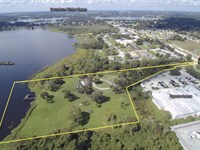 8.87 Acre Lakefront Development : Winter Haven : Polk County : Florida