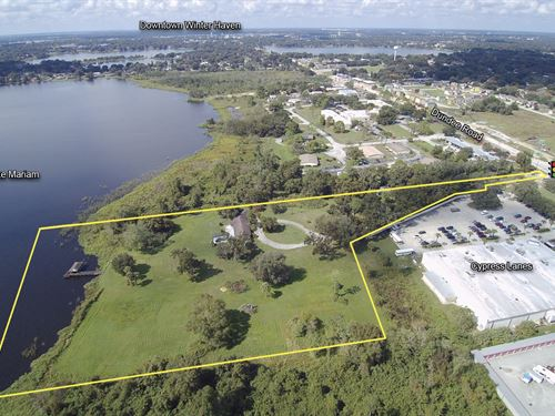 8.87 Acre Lakefront Development : Winter Haven : Polk County : Florida